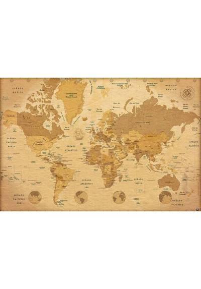 Mapa del Mundo (POSTER 45x32)