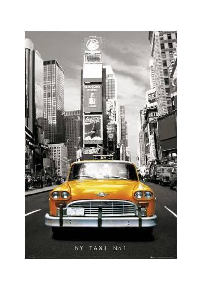 Taxi en Nueva York (POSTER 32x45)