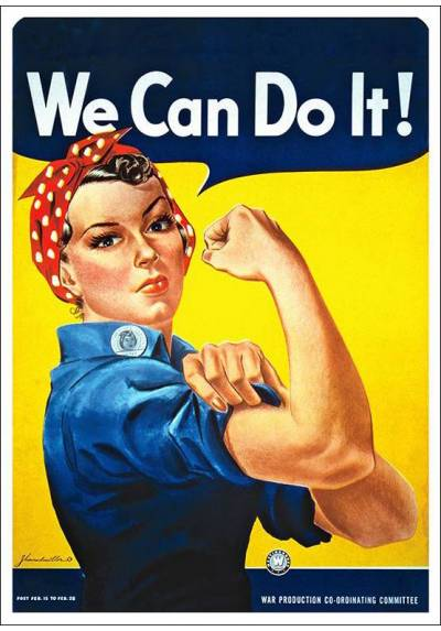 We Can Do It! - Howard Miller (POSTER 32x45)