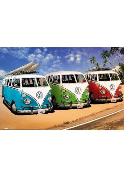 copy of VW CAMPERS (POSTER)