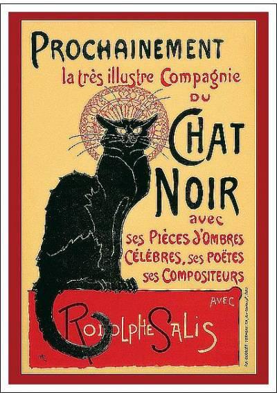 Chat Noir - Théophile Alexandre (POSTER 32x45)