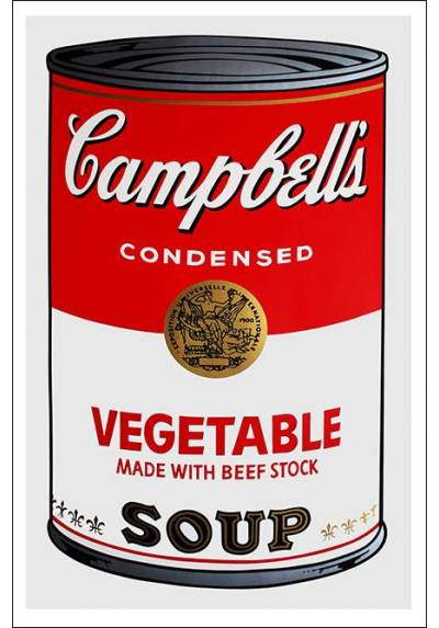 Sopas Campbell´s - Andy Warhol (POSTER 32x45)