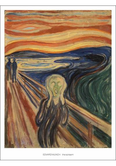 El Grito - Edvard Munch (POSTER 32x45)