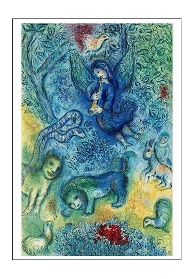 La Flauta Mágica - Marc Chagall (POSTER 32x45)