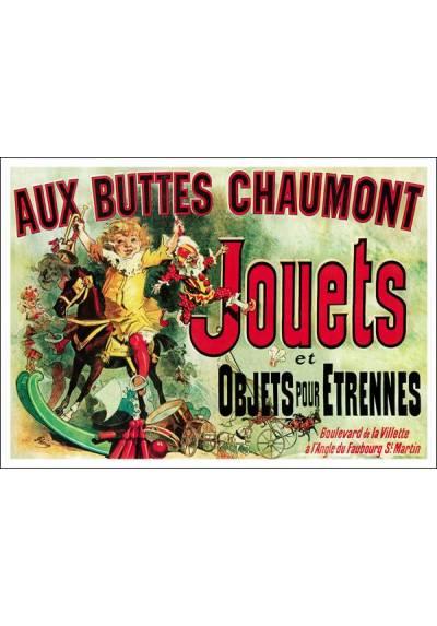 Aux Buttes Chaumont Jouets (POSTER 45x32)
