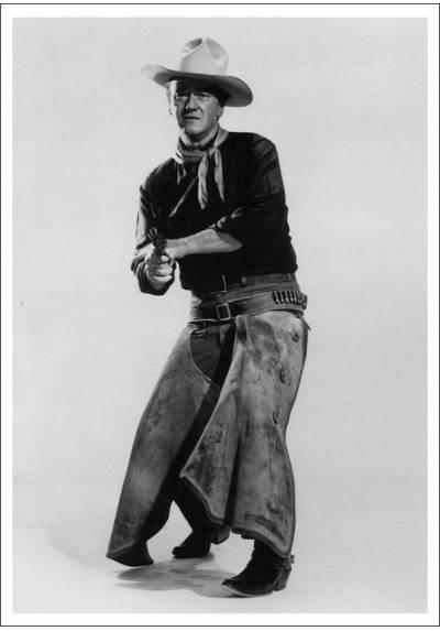 Tom Doniphon - John Wayne (POSTER 32x45)