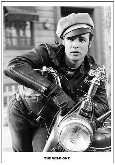 The Wild One - Marlon Brando (POSTER 32x45)