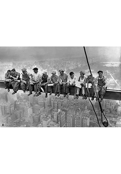 Obreros en la Viga (POSTER 45x32)