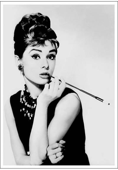Desayuno con Diamantes - Audrey Hepburn (POSTER 32x45)