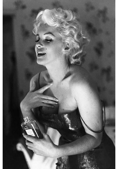 Marilyn Monroe - Chanel Cinco (POSTER 32x45)