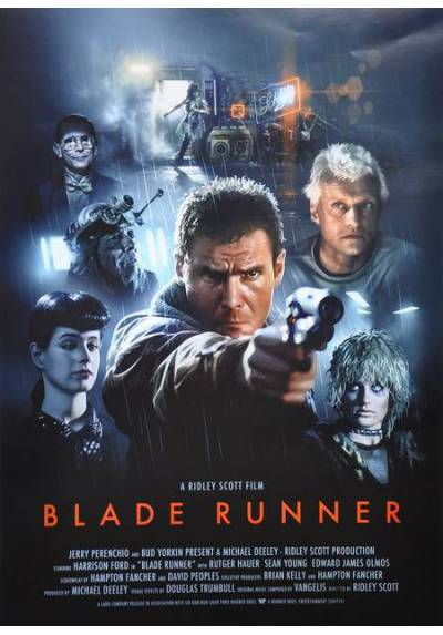 Blade Runner - Personajes (POSTER 32x45)