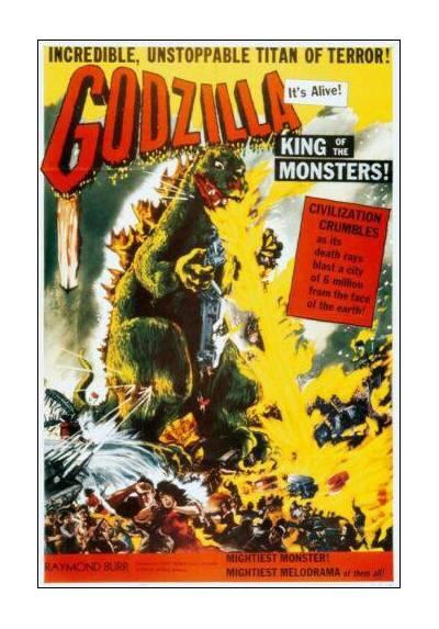 Godzilla (POSTER 32x45)