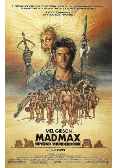 Mad Max 3 (POSTER 32x45)