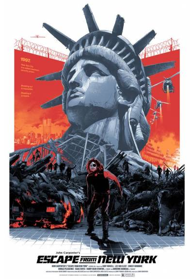 1997: Escape from New York (POSTER 32x45)