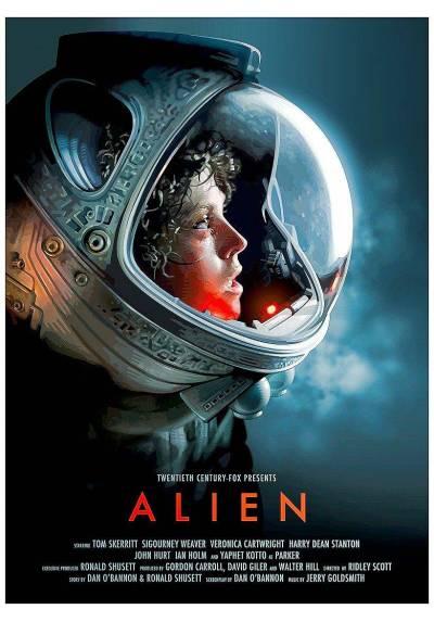 Alien - Sigourney Weaver (POSTER 32x45)