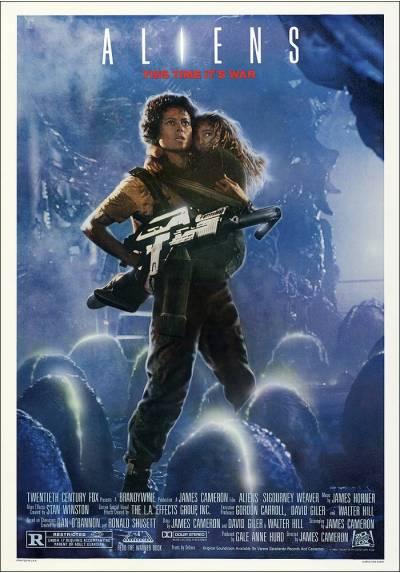 Aliens - Cartel Americano (POSTER 32x45)