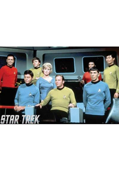 Start Trek - Personajes (POSTER 45x32)