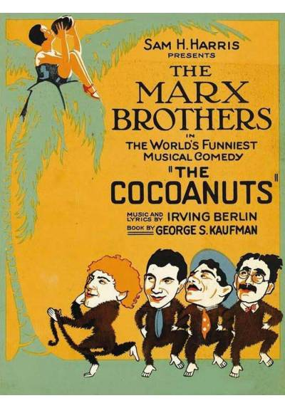 The Marx Brothers - The Cocoanuts  (POSTER 32x45)