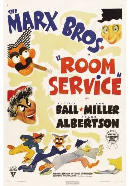 The Marx Brothers - Room Service  (POSTER 32x45)
