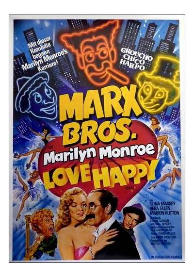 The Marx Brothers - Love Happy  (POSTER 32x45)