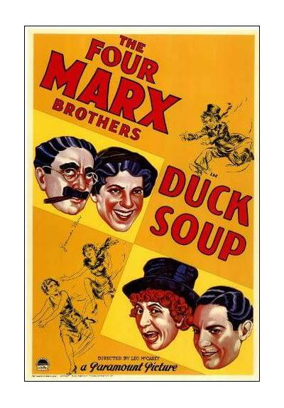 The Marx Brothers - Duck Soup (POSTER 32x45)