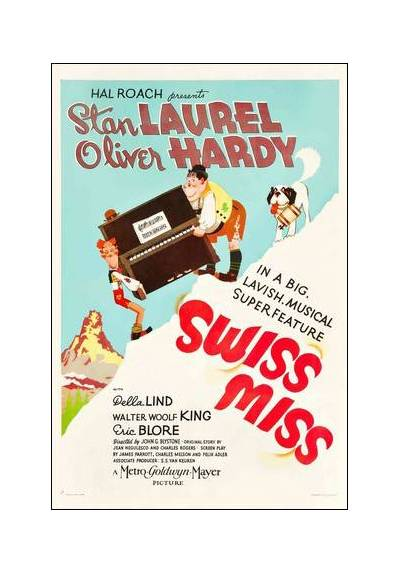 Swiss Miss - Quesos y Besos (POSTER 32x45)