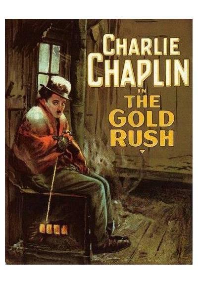 Charles Chaplin - La quimera del oro (POSTER 32x45)