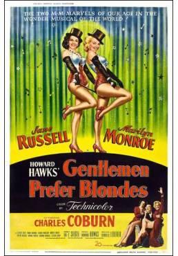 Marilyn Monroe - Gentlemen Prefer Blondes - Los Caballeros las Prefieren Rubias  (POSTER 32x45)