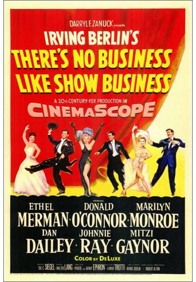 Marilyn Monroe - There´s No Business Like Show Business  - Luces de candilejas  (POSTER 32x45)