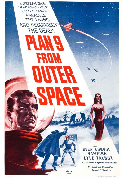 Plan 9 del espacio exterior (POSTER 32x45)