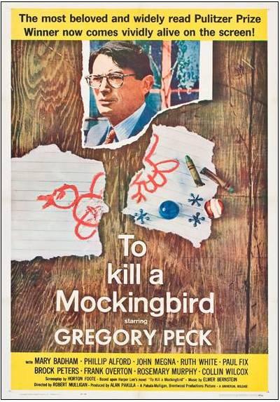 To kill a Mockingbird - Matar a un Ruiseñor (POSTER 32x45)