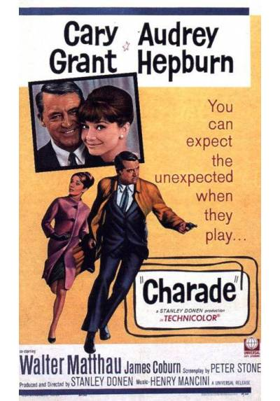 Charade (POSTER 32x45)