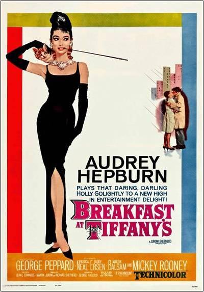 Breakfast at Tiffany's - Desayuno con diamantes (POSTER 32x45)