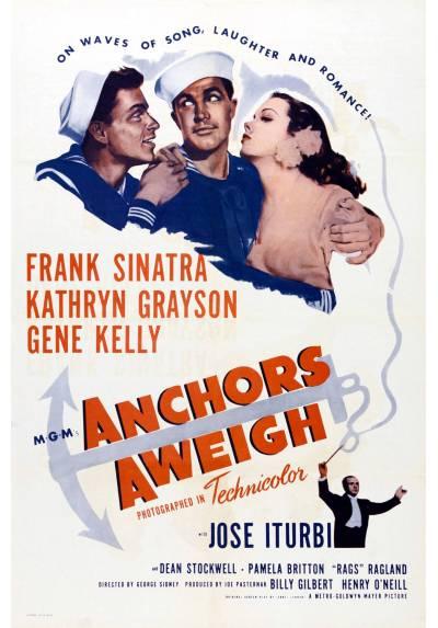 Anchors Aweigh  - Levando anclas (POSTER 32x45)