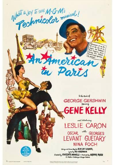 An american in Paris - Un americano en Paris (POSTER 32x45)