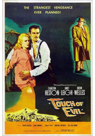 Touch of evil - Sed de Mal (POSTER 32x45)