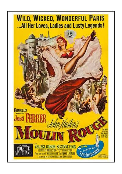 Moulin Rouge (POSTER 32x45)