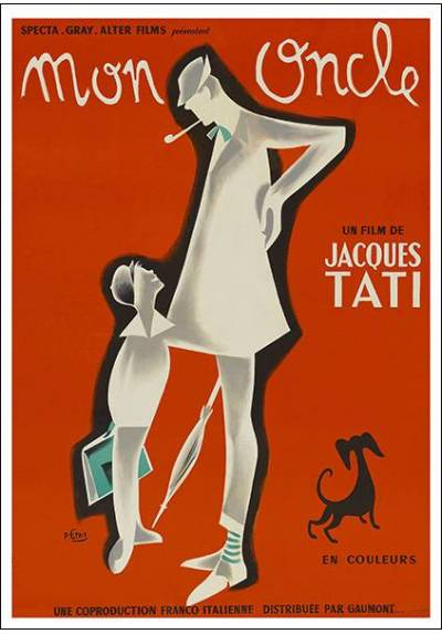Mon Oncle (POSTER 32x45)