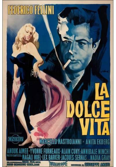 La Dolce Vita - Marcelo Mastroianni (POSTER 32x45)