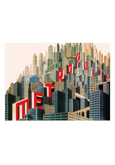Metrópolis - Art Decó (POSTER 45x32)