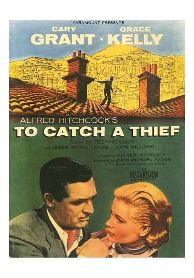 To catch a thief - Atrapa a un Ladrón (POSTER 32x45)