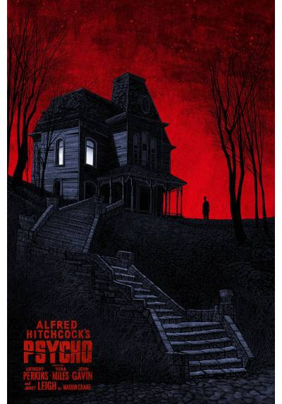 Psycho - Psicosis (POSTER 32x45)