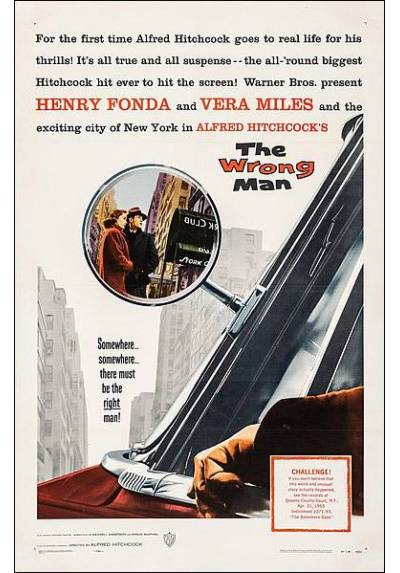 The wrong man - Falso culpable (POSTER 32x45)