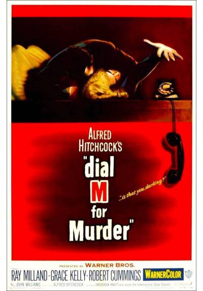 Dial M for Murder - Crimen perfecto (POSTER 32x45)