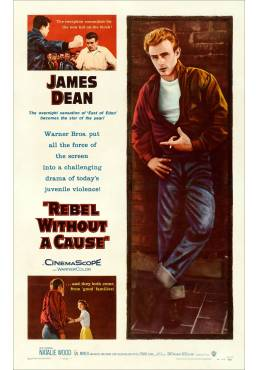 Rebel without a cause - Rebelde sin Causa  (POSTER 32x45)