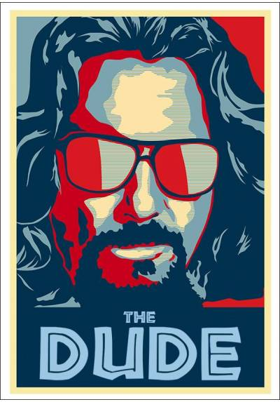 The Dude - Jeff Bridges (POSTER 32x45)