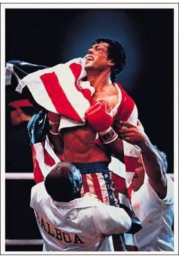Rocky IV - Sylvester Stallone (POSTER 32x45)