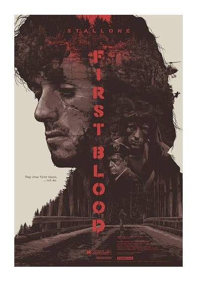 Rambo: First Blood - Acorralado (POSTER 32x45)