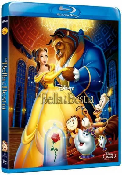 La bella y la bestia (Blu-ray) (Beauty and the Beast)