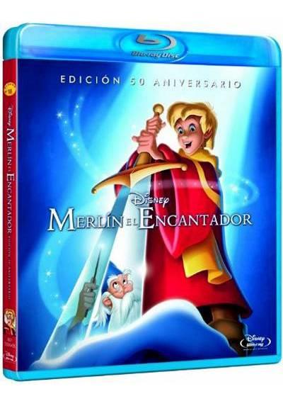 Merlín el encantador (Blu-ray) (The Sword in the Stone)